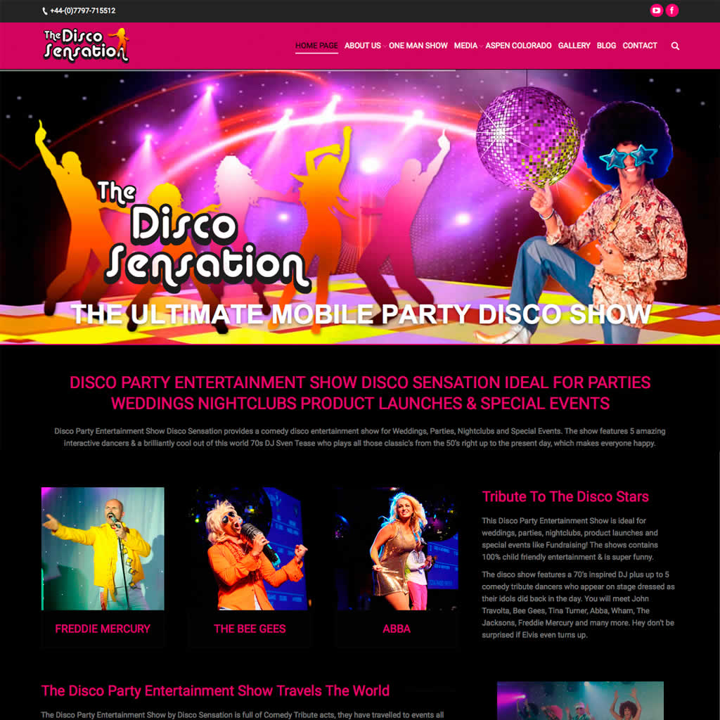 The Disco Sensation Home Page