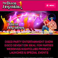 The Disco Sensation Website Project
