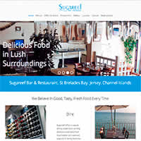 Sugareef Restaurant Jersey Website Project