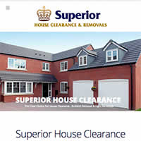 Superior House Clearance Website Project